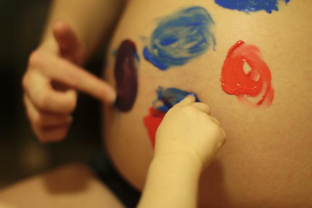 måla magen