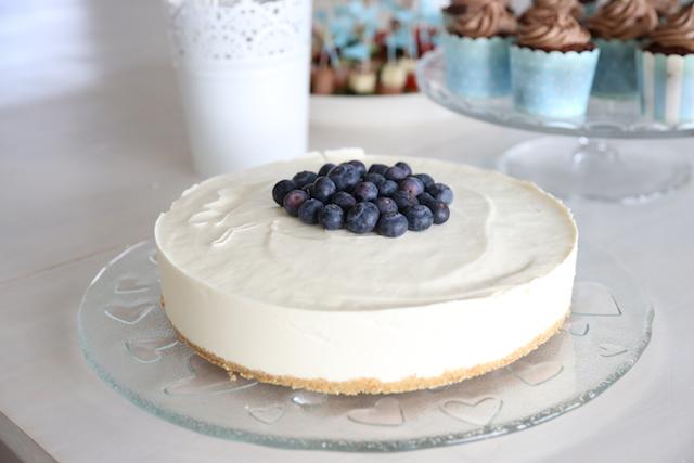 blåbär-vitchoklad cheesecake