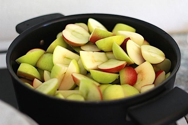 koka äppel