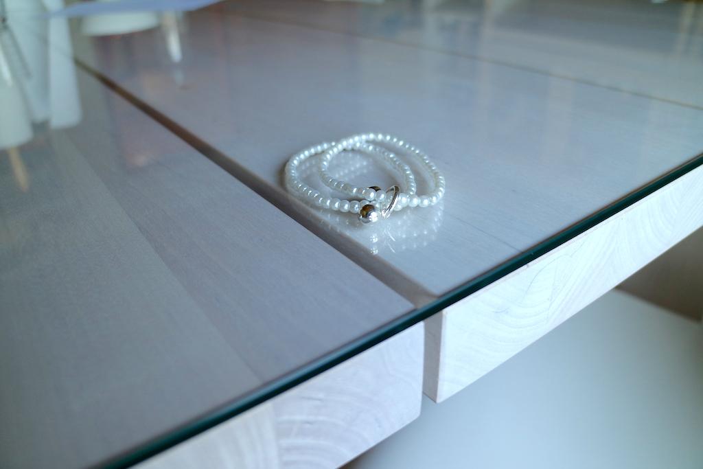 glasskiva matbordet