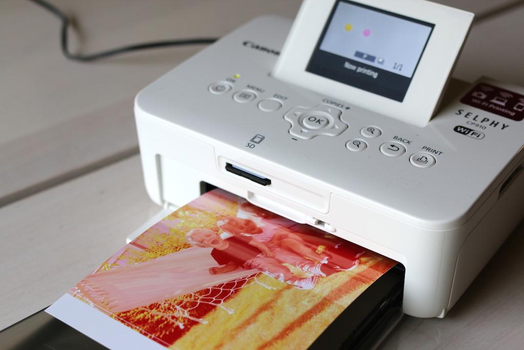 liten printer selphy