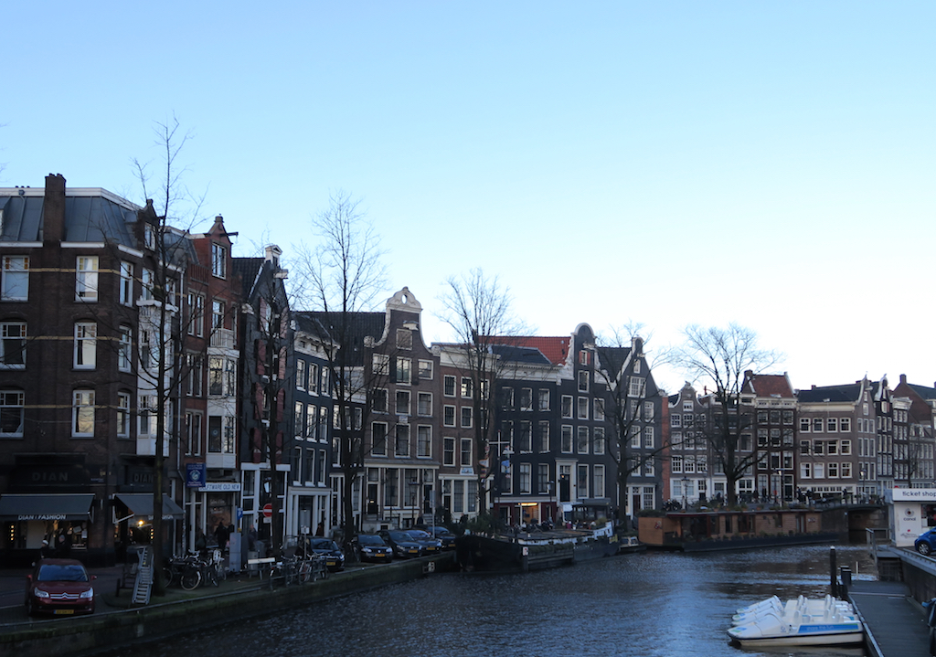 hus langs kanalen