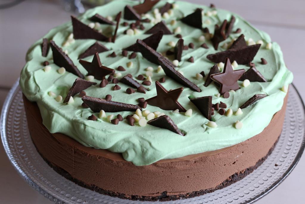 mintchoklad cheesecake
