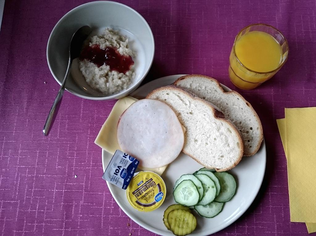 motel marine frukost