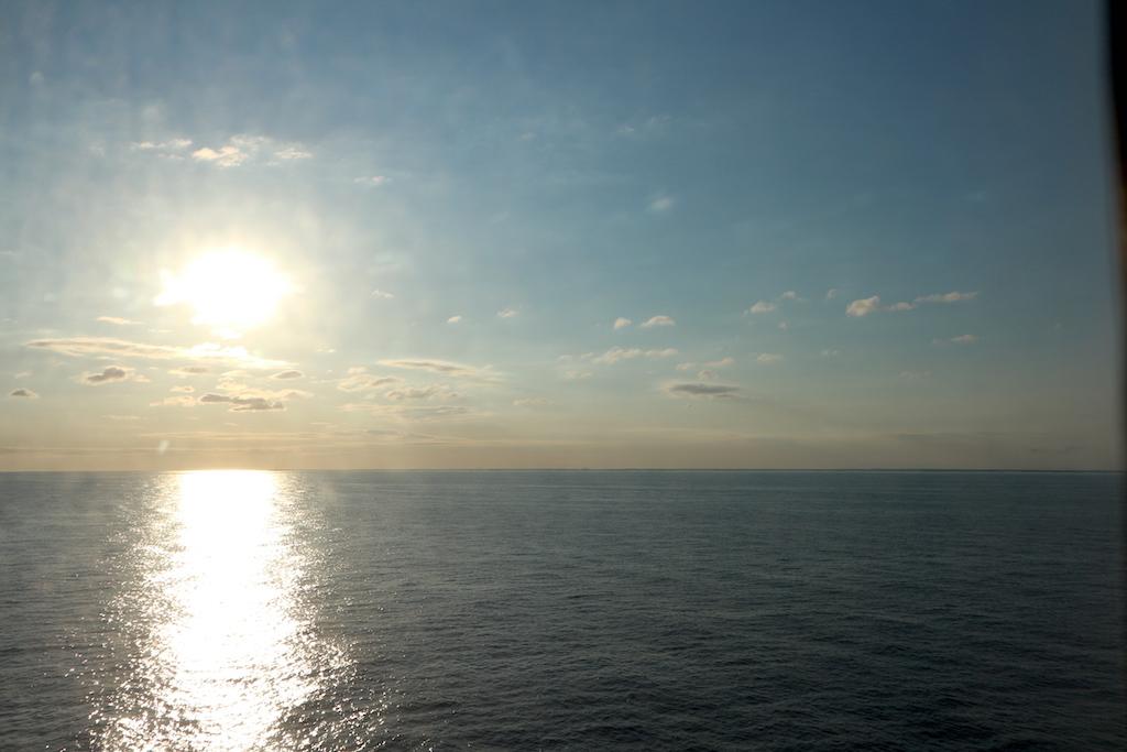 havet solen